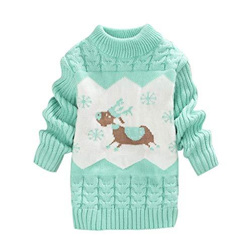 LEXUPE Baby-Mädchen Jacke Dot Bedruckt Mantel Born Bekleidung,0-3 Jahre(Minzgrün,80/12)
