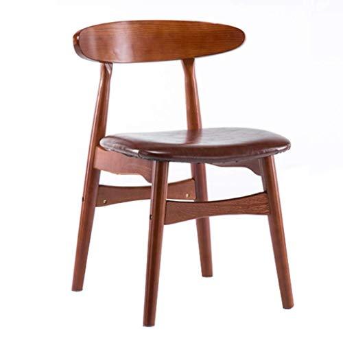 QJY Ergonomische armleuningstoel, voor op kantoor, thuis, keukenstoel, woonkamer, met hoge rugleuning, elegante eetstoel met armleuningen