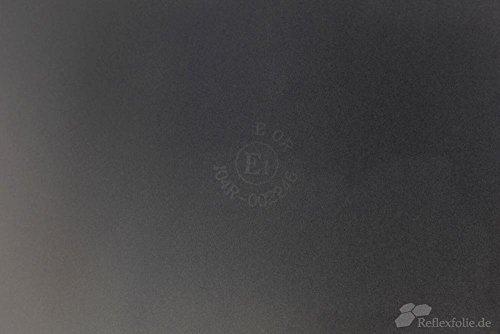 Orafol Reflexfolie A4, schwarz, reflektierend, selbstklebend