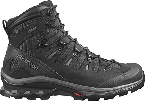 Salomon Men's Quest 4D 3 GTX Backpacking Boots, PHANTOM/Black/Quiet Shade, 8