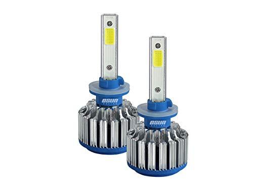 Kit de Focos LED Modelo 880 RZ de 45w con ventilador Para Faros Principales y Auxiliares - Luces Independientes.