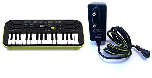 Casio SA-46, Electronic Keyboard with LAD-6 Adapter