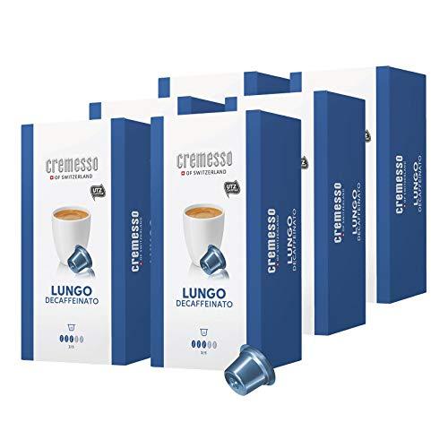 Cremesso Kaffekapseln Lungo Decaffeinato 96 Stück (6 x 16 Stück)