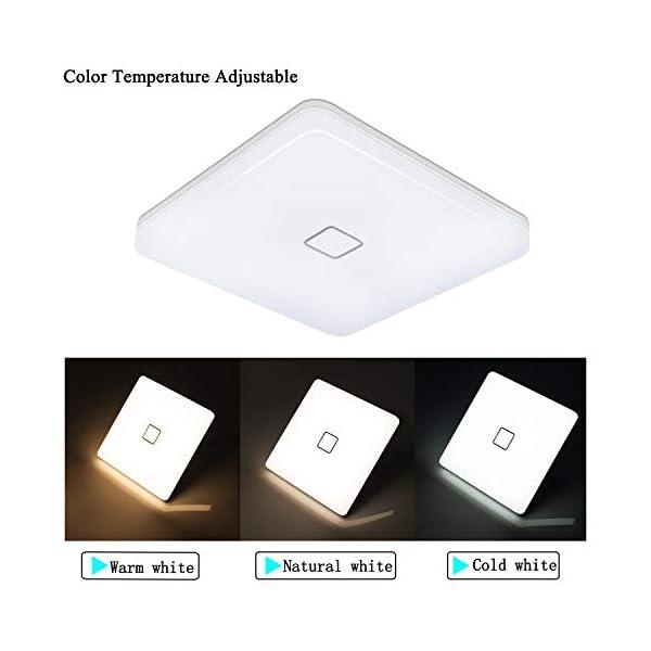 uesen-Deckenleuchte-LED-24W-Lampe-Decke-Deckenlampe