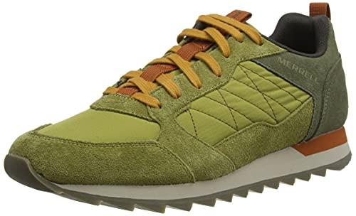 Merrell Alpine Sneaker, Botas de montaña Hombre, Moss, 44.5 EU