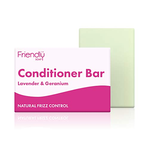 Friendly Soap Natural Lavender and Geranium Conditioner Bar 95g