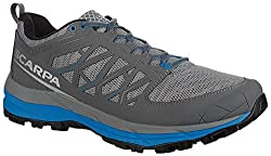 top rated SCARPA Proton XT Trail Running Sneakers-Men's Gray / Blue 47 2021