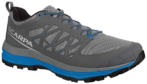 top rated SCARPA Proton XT Trail Running Sneakers-Men's Gray / Blue 47 2020