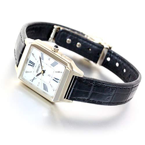[セイコーウォッチ] 腕時計 ルキア SSVW162 レディース ブラック