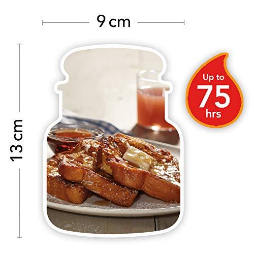 Yankee Candle candela profumata in giara media  French Toast alla Vaniglia   durata: fino a 75 ore