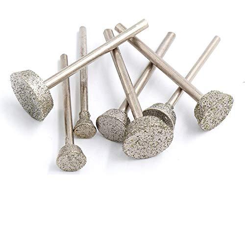 F-MINGNIAN-TOOL, 5 stuks Magnetisch Schuren E Naald Diamant Slijpen Jade Snijden Magnetisch Schuren Voor Dremel Accessoires 1~16 mm