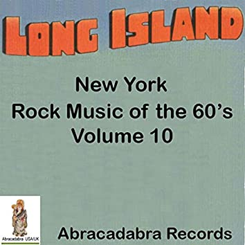 Long Island NY Rock Music of the 60's, Volume # 10
