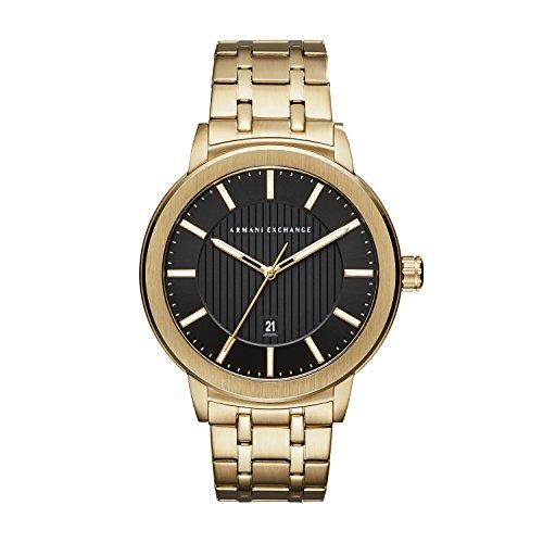 Armani Exchange - Reloj de acero inoxidable oro para hombre - AX1456