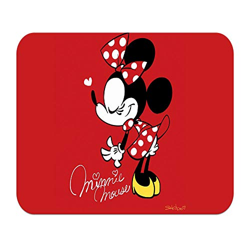 Mickey Mouse Minnie Mouse Pad Personalized Non-Slip Mousepad Cartoon Pattern Gaming Mouse Pad Slim Skid Proof High Mouse Tracking for Gaming, Office, Home