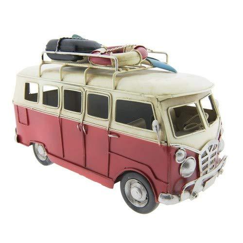 Clayre & Eef 6Y2714 Model bus 25 * 12 * 16 cm vintage decoratie