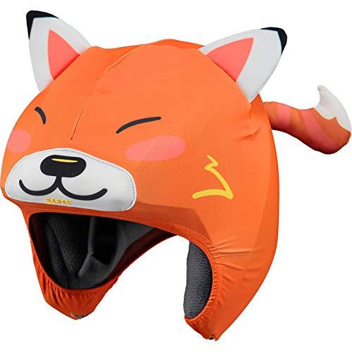 barts orange fox helmet cover