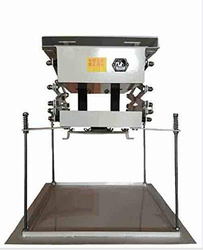 INTBUYING 39 Inch Projector Lift Motorized Ceiling Projector Scissor Bracket Projector Hidden Lifter Adjustable Wireless Control