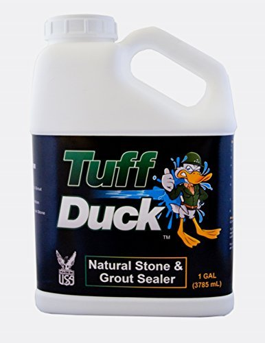 Tuff Duck Granite, Grout and Marble Sealer 1 Gallon Stone...