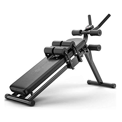 UIZSDIUZ Abdominal Crunch Coaster Entrenamiento Fitness Equipment Cuerpo Ejercicio MAX Core Funciona, versátil Interiores Entrenamiento Total del Cuerpo Entrenamiento de Fuerza Equipo de la Aptitud