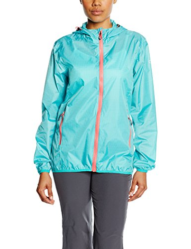 CMP Damen Regenjacke, Tropical-V. Acqua-Corallo, D40, 3X57726