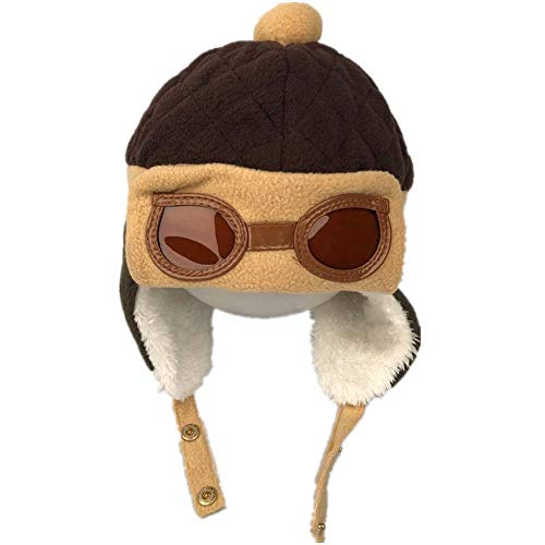 HunterBee - Gorro de invierno para bebé, diseño de aviador