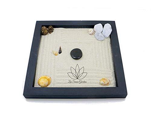 Giardino Zen in Legno da Tavolo (Personalizzabile) per Arredamento della Casa in Stile Feng Shui ॐ Zensimongardens®