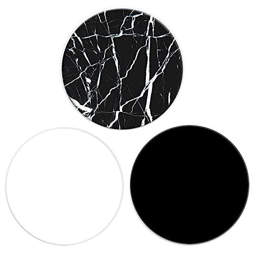 Brant - Supporto telefonico per Smartphone e Tablet, Confezione da 2,Bianco e Nero