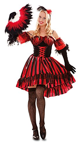 Fyasa 706555-T04 Western Danser-kostuum voor 12 jaar, meerkleurig, maat L