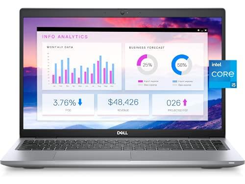 2021 Newest Dell Business Laptop Latitude 5520, 15.6' FHD IPS Anti-Glare Display, Intel Core i5-1135G7, 16GB RAM, 512GB SSD, Webcam, Backlit Keyboard, WiFi 6, Thunderbolt 4, Win 10 Pro