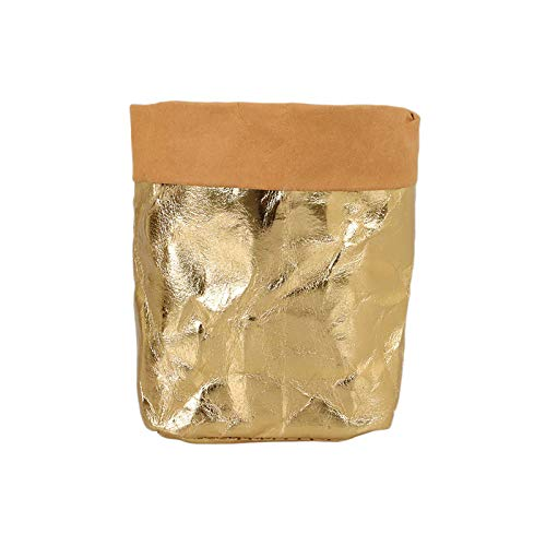 YDong Macetas Suculentas Maceta de Papel Kraft Lavable Macet