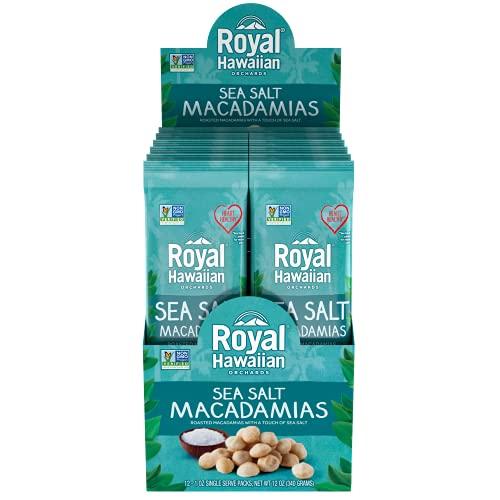 Royal Hawaiian Macadamia Nuts Roasted Salted--Snack Pack