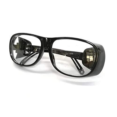 Casco de soldador Gafas de soldar SOLDADURA DE GAS SOLDADURA ELÉCTRICA PULIDO DE POLVO DE POLLO GOGGLES TRABAJO Gafas de sol protectoras Gafas Gafas Gafas Trabajo Protect CO (Color : White sanding)