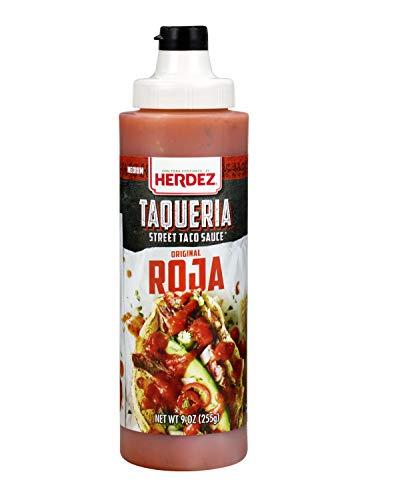Herdez Red Taqueria Sauce 9 oz (Pack of 3)