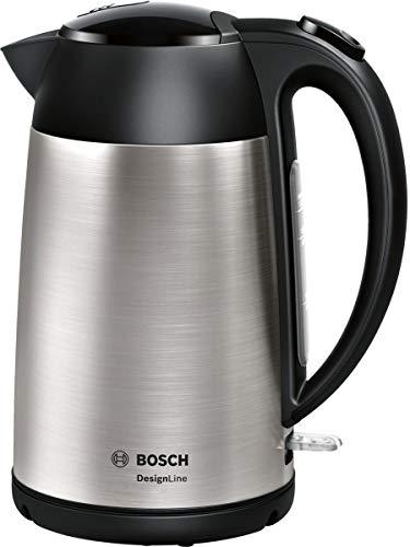 Bosch TWK3P420 DesignLine Bollitore, 2400 W, 1.7 L, Acciaio Inox