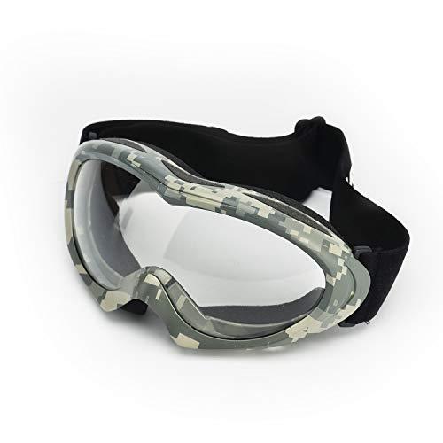 SAFEYEAR - Gafas de protección de Seguridad (protección CE) - Gafas de Seguridad para protección de los Ojos con Lentes Transparentes antivaho y Gafas de Trabajo con Z87+, Verde