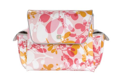 Fleurville MotherShip Bag Wickeltasche Tangerine Ogo, MS TO