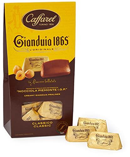 Caffarel Gianduia 1865 Astuccio Gianduiotti Classici, 150 g, (l'imballaggio può variare)