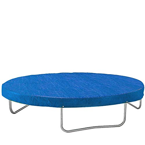 Monzana Abdeckung Trampolin Trampolinschutz Abdeckplane Regenschutz | Ø 244cm | blau |reißfest |UV-beständig |leicht zu reinigen