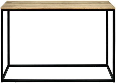 DS Dropshipping Mesa Recibidor iCub. Color Blanco. Dimensiones 120x35x80cm. Fabricado en España en Madera de Pino Maciza con Estructura de Tubo de ...