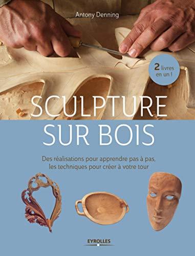 Sculpture sur bois : Des réalisations pour apprendre pas à pas - Les techniques pour créer à votre tour