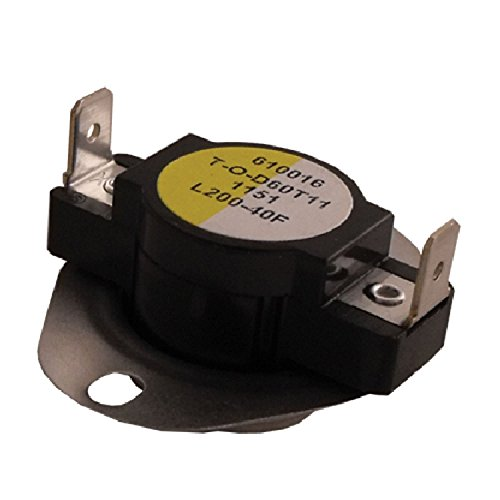 Supco Series L200 Thermostat 60T11 Style 610016