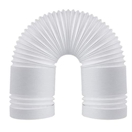 Manguera de aire acondicionado Portable aire acondicionado de escape manguera de 5.1 pulgadas en pulgadas de diámetro-40 en sentido antihorario a largo universal de aire acondicionado flexible de flex