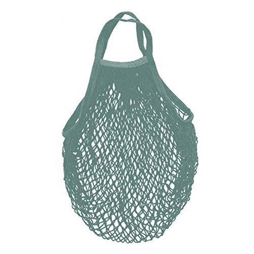 Leeofty Mesh Net Bag String Shopping Tote Woven Bag Reusable Fruit Vegetables Storage Handbag