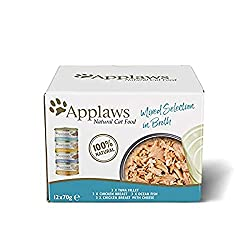100 Percent Natural - Nothing added, Nothing hidden 75 Percent Tuna Fillet – We only insist on only the highest quality ingredients Chicken Breast – Natural source of Omega-6. Fish – Natural source of Omega-3 Complementary pet food - Feed with any dr...