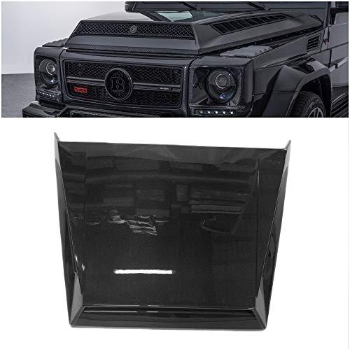 KubaY-Design Mercedes-Benz W463 G-Class G-Wagon G63 G55 G500 Pure Carbon Fiber Hood Bonnet Scoop Brabus G900 Style