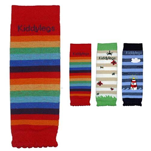 Kiddylegs® Babystulpen Premium Mini Beinwärmer für Neugeborene (Regenbogen)
