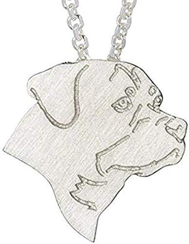 BEISUOSIBYW Co.,Ltd Halskette Mode Klassische Männer Frauen Charme Halskette Schmuck Hundekette Halskette Haustier Anhänger Halskette Gedenkgeschenk