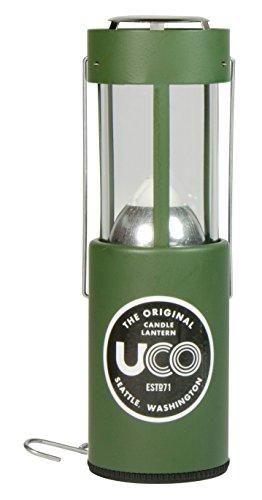UCO Alu Kerzenlaterne, grün, 054810