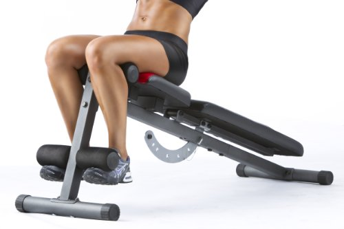 Product Image 3: Weider Incline Weight Bench black, 40L x 18.25W x 53.5H inches