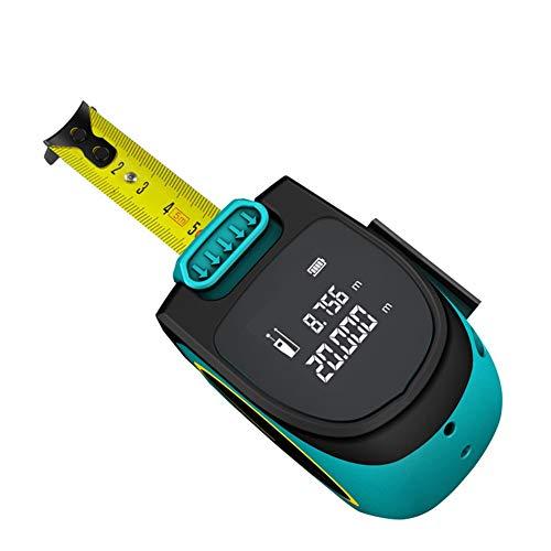 JSANSUI Digitales Maßband Elektrische Maßband 5 Meter Mini Laser-Entfernungsmesser Holzbearbeitung Lasermessung, Geeignet for den Heimgebrauch